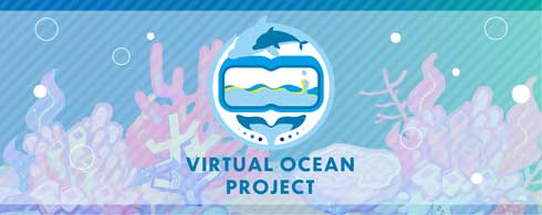 Virtual Ocean Project 横浜・八景島シーパラダイス 水中ドローン VR 潜水