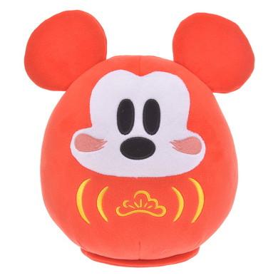 ミッキーマウスが幸せを呼ぶだるまに変身! ディズニーストアの