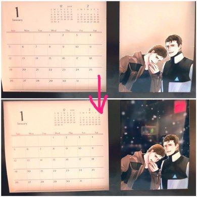 オタ活卓上カレンダー