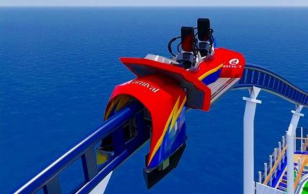 海上ジェットコースター