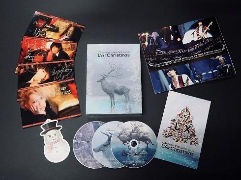 ラルク LIVE 2018 L'ArChristmas Blu-ray初回生産限定盤