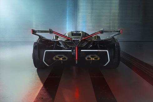 ランボルギーニ「ランボV12ビジョン グランツーリスモ」