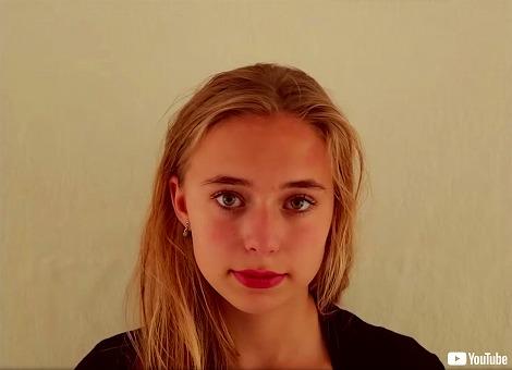 娘の20歳までの成長を捉えた映像
