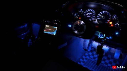 スカイライン R32 カスタム イルミネーション 光の魔術