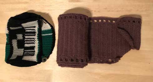 富士フイルム 好き フィルム 編み物 フジカラー 100 マフラー 自作