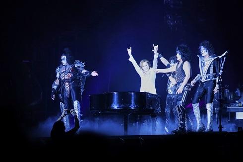 YOSHIKI KISS 共演 東京ドーム