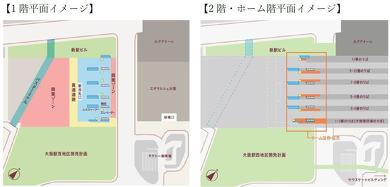 大阪 梅田 ダンジョン 駅ビル うめきた新駅 JR西日本 梅三小路