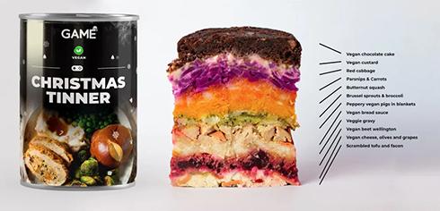 ガチゲーマーのためのクリスマス缶詰「クリスマスティンナー」よりベジとヴィーガン向けが登場
