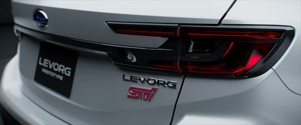 新型レヴォーグ プロトタイプ STI Sport(写真:スバル、以下同)