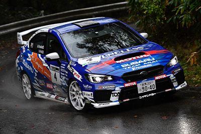 WRX STI 全日本ラリー2019参戦車