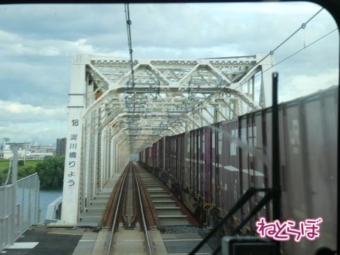 おおさか東線 赤川鉄橋 淀川橋りょう