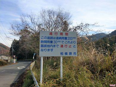 通行規制の看板