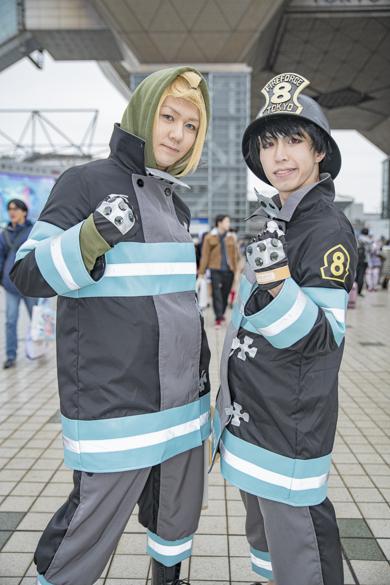 コミケ コスプレ コミックマーケット97 C97 炎炎ノ消防隊 森羅日下部 アーサー・ボイル