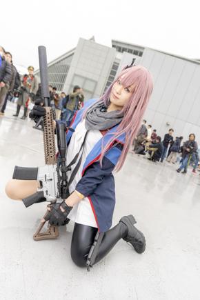 コミケ コスプレ コミックマーケット97 C97 ドールズフロントライン ドルフロ 少女前線 AR-15