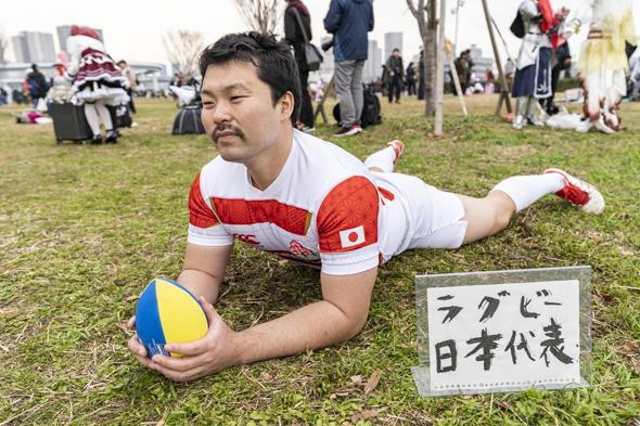コミケ コスプレ コミックマーケット97 C97 ラグビー 日本代表
