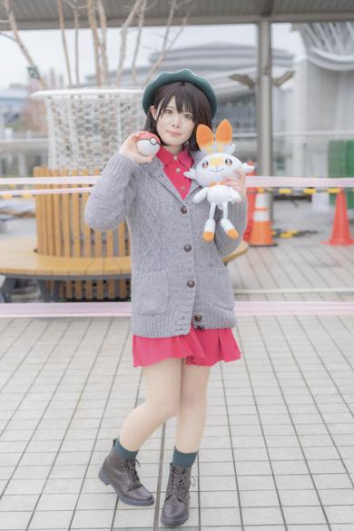 コミケ コスプレ コミックマーケット97 C97 ポケットモンスター ソード・シールド ユウリ