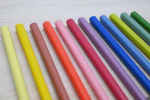 クーピー風カラー箸 ヘソプロダクション クーピーペンシル コラボ