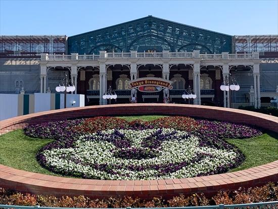 ミニーマウス 花壇
