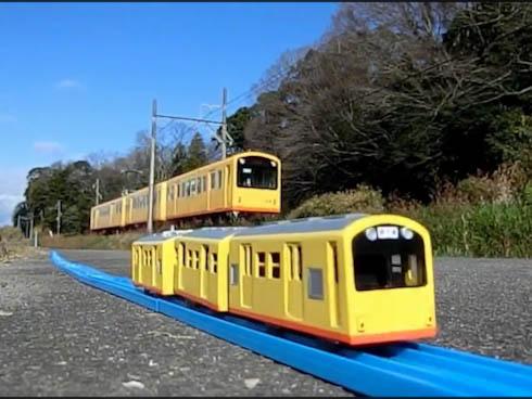 北勢線 ナローゲージ プラレール 親子 改造 並走 撮り鉄 プラレーラー 鉄道模型