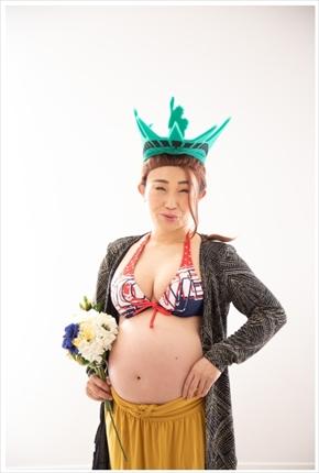 キンタロー。 妊娠 夫 ブログ マタニティフォト ワタベウエディング