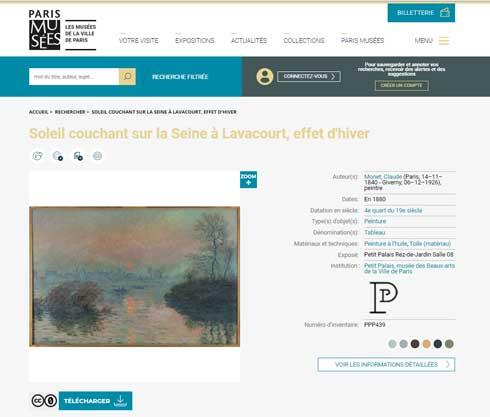 パリ 美術館 10万 アート作品 高解像度 画像 無料 ダウンロード 商用利用