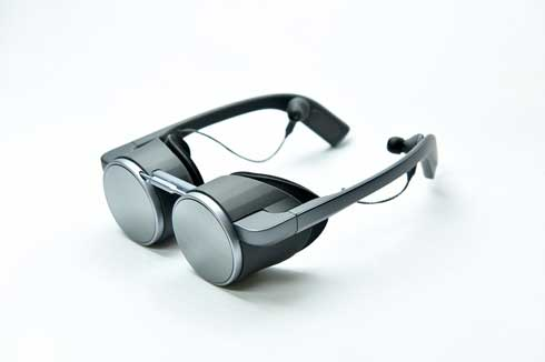 パナソニック HDR対応 眼鏡型 VRグラス 高画質 開発 CES2020
