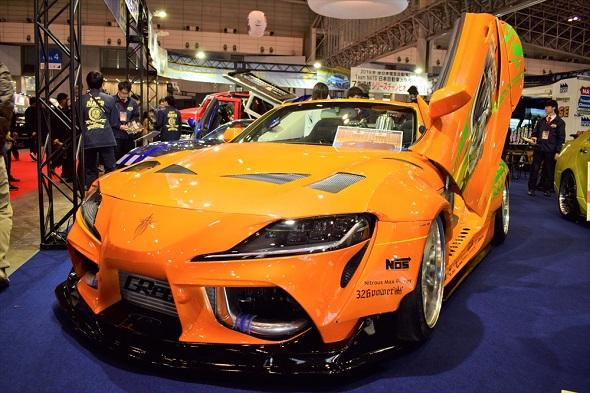 インポートカー部門優秀賞を獲得した「NATS A90 Spider」