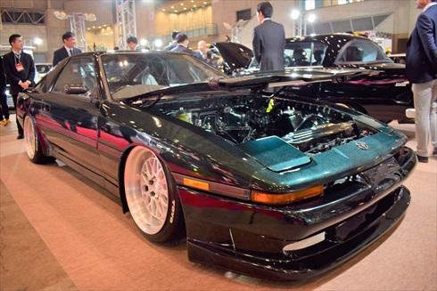 福島県理工専門学校はトヨタ 3代目スープラをカスタムした「EVスープラ」を出展
