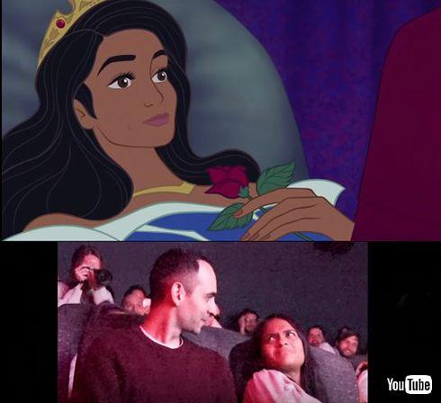 「眠れる森の美女」上映会が実はプロポーズ クオリティー高すぎるサプライズに感動が止まらない