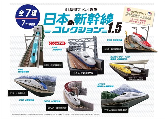 【だが九州新幹線長崎ルートには反対】見ているだけでワクワクする 新幹線のジオラマフィギュア「日本の新幹線コレクション1.5」登場