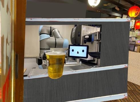 ロボット酒場 養老乃瀧 QBIT 実証実験 池袋 ゼロ軒めロボ酒場 AI