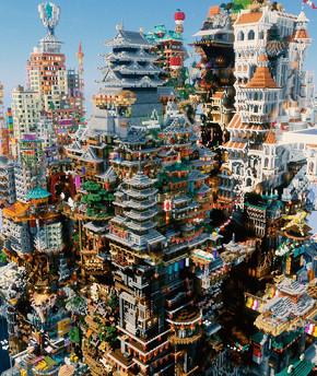 マイクラ違法建築
