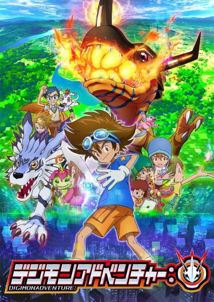 デジモン アドベンチャー テレビアニメ 20周年 完全新作