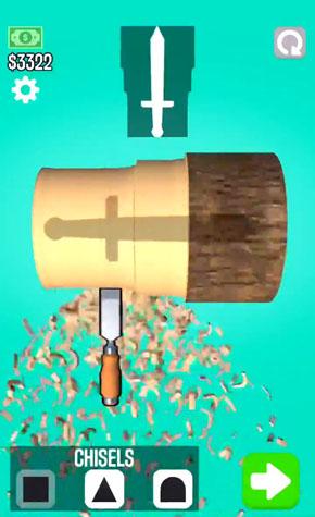 木工旋盤ゲーム