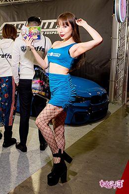 東京オートサロン コンパニオン キャンギャル コスプレイヤー 幕張メッセ 自動車 モータースポーツ