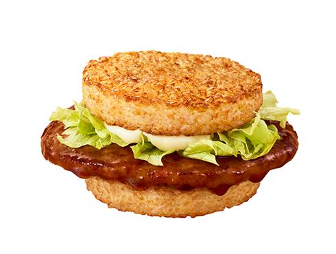 マクドナルド初となる「ごはんバーガー」3種類が夜マックで販売決定