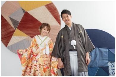 紺野あさ美 和装前撮り 結婚式 ブログ ウエディングフォト 夫婦 杉浦稔大