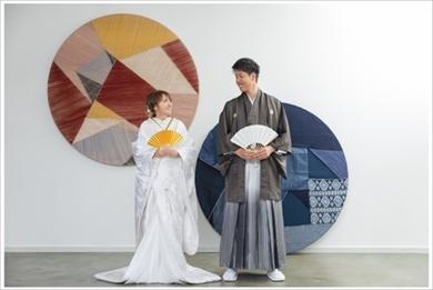 紺野あさ美 和装前撮り 結婚式 ブログ ウエディングフォト 夫婦 杉浦稔大 白無垢 色打掛