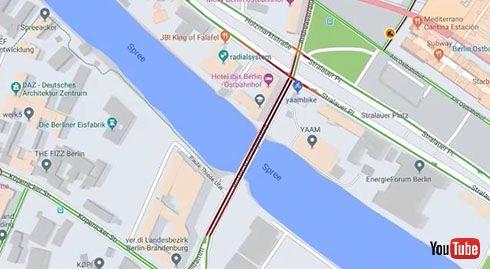 99台のスマホを運ぶ謎の男性 Googleマップで仮想交通渋滞を作り出す動画が話題