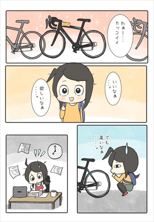 自転車マンガ