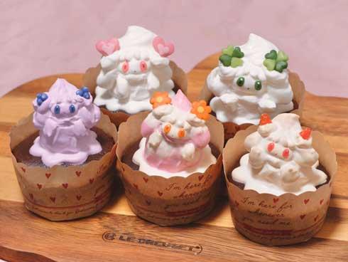 ポケモン 食べれる マホイップ ホイップ ケーキ 自作 パティシエ ranran