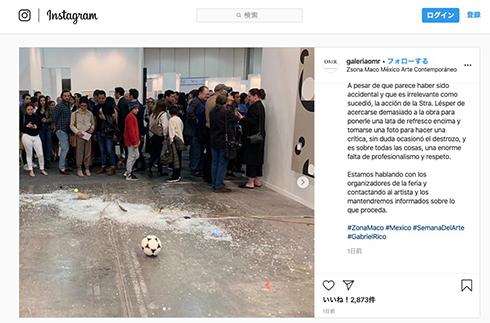2万ドルのアート作品が事故で粉々に 美術評論家に非難