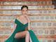 「お姫様だ」「ビーナス降臨」 河北麻友子、アカデミー賞中継で見せた美脚ドレス姿に絶賛相次ぐ