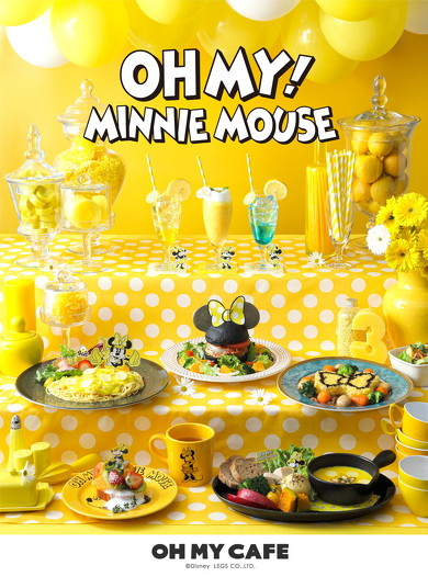 OH MY! MINNIE MOUSE OH MY CAFE