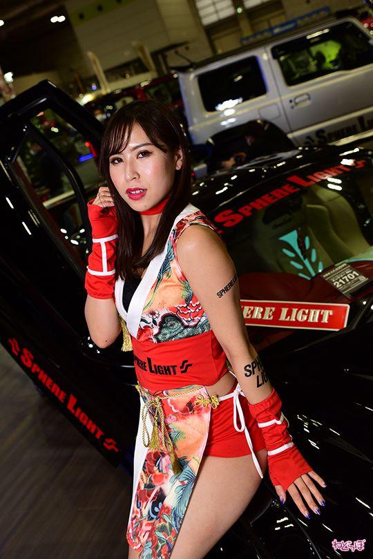 大阪オートメッセ コンパニオン キャンギャル コスプレイヤー インテックス大阪 自動車 モータースポーツ