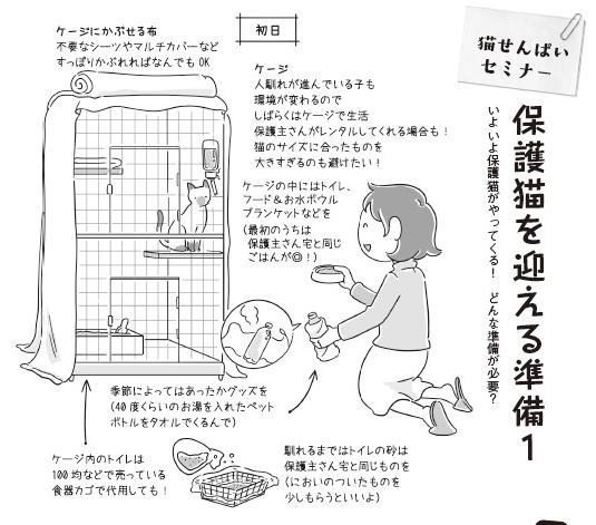 「保護猫を迎える準備1」1