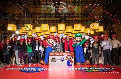 ユニバーサル・スタジオ・ジャパン SUPER NINTENDO WORLD CHALLENGE マリオ ニューヨーク イベント