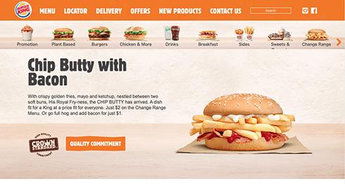 フライドポテトだけ挟んだハンバーガー バーガーキングNZの新メニューとして登場