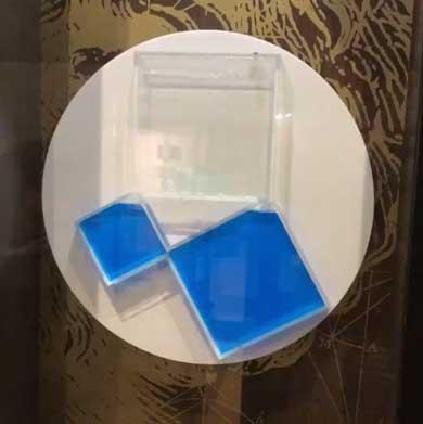 三平方の定理 ピタゴラスの定理 展示 液体 回転 わかりやすい 直感的