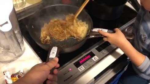 子供と一緒に料理 ティファール 取っ手 2個 アイデア